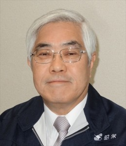 この人に聞く2015 大阪管工機材商業協同組合 理事長<br>恩智 秀直氏(昭栄会長)