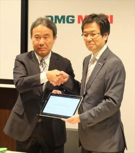 DMG森が日本MSと技術提携