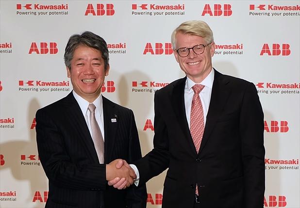 川崎重工業とABBが協働ロボ分野で協業<br>使いやすい環境を整備