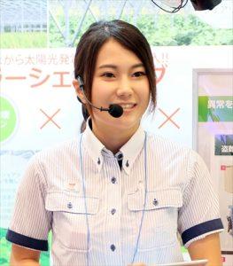 ふぁいと!!〜機械工具業界で活躍する女性たち〜<br>ユアサ商事 木村  美恵さん<br>働く女性のモデルに