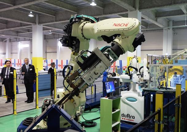 ジーネット ロボットテクニカルセンター開設<br>安全講習や導入手助け