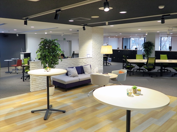オーエスジー IT戦略部が働き方改革<br>働きやすいオフィスに