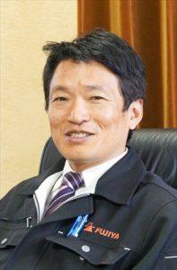 生かす3ブランドの特長<br>フジ矢 野﨑  恭伸 社長