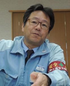 トップインタビュー  コマツ執行役員  大阪工場長  岩崎章夫氏に聞く