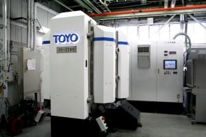 PVDの新型炉を開発  本社工場に導入<トーヨーエイテック>