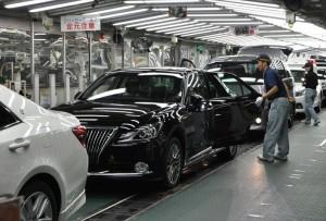 トヨタ自動車、元町工場、検査ライン_R