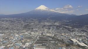 ①世界位置のCVYメーカー・ジヤトコと日本一の富士山
