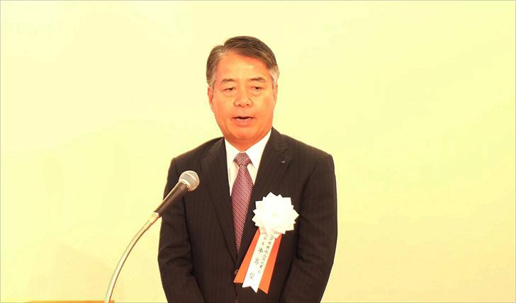 新会長に就任した東芝機械会長 飯村 幸生氏