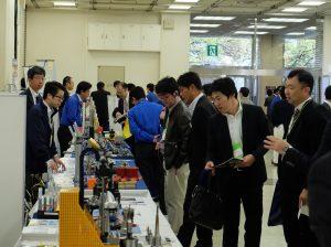 機械加工システム展の様子1