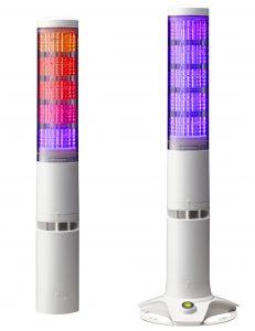 【ウェブ限定】積層情報表示灯LA6にPoE対応追加―パトライト