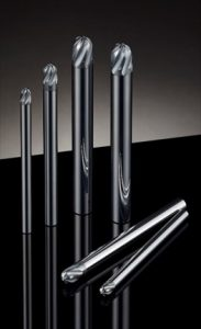 三菱日立ツール 送り速度毎分20m<br>6枚刃のボールエンドミル発売
