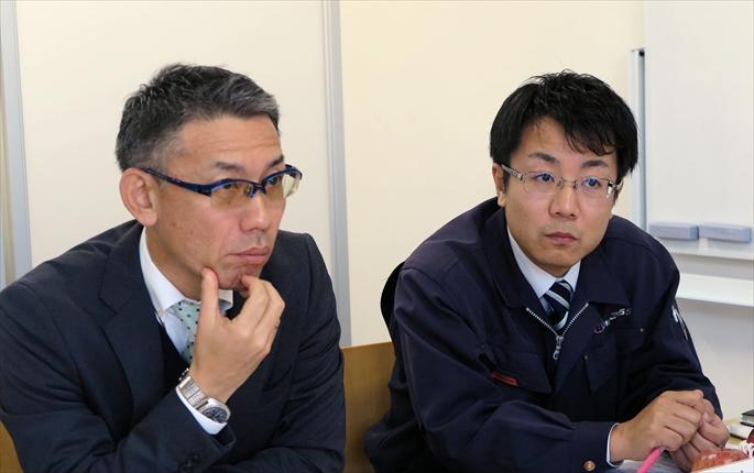 幡野社長と小浦社長