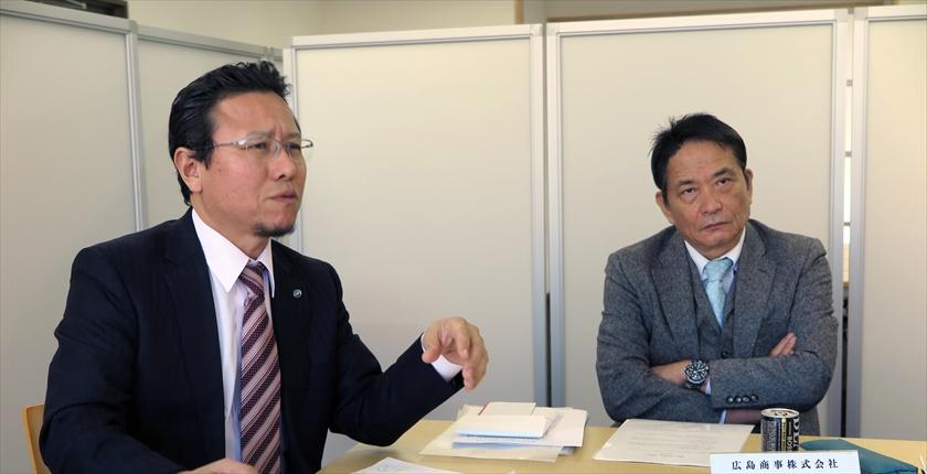 林社長と和久田社長