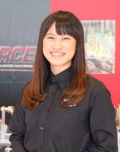ふぁいと!!〜機械工具業界で活躍する女性たち〜<br>タンガロイ 山野 秋恵さん<br>ファンづくりにやりがい