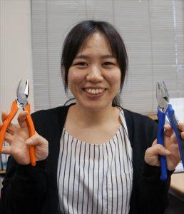 ふぁいと!!〜機械工具業界で活躍する女性たち〜<br>フジ矢 平野 みのりさん<br>回答は1秒でも早く