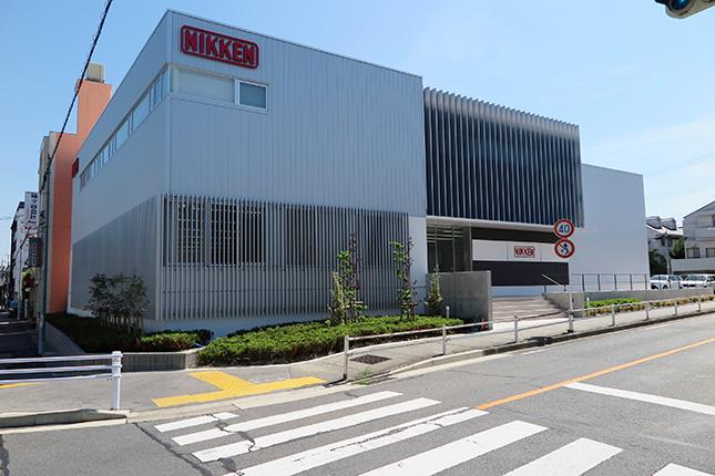 日研工作所  名古屋営業所を新築移転