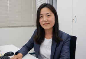 ふぁいと!!〜機械工具業界で活躍する女性たち〜<br>ジーネット 樋川 佳名子さん<br>仕事を楽しみ輝くように